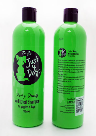 Just 4 Dogs Medicated Shampoo